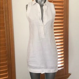 MK white mini dress